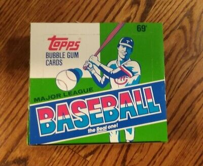 Topps Baseball Cello - 1987 Topps Baseball Cello Box Unsearched and Unopened- Fast Shipping