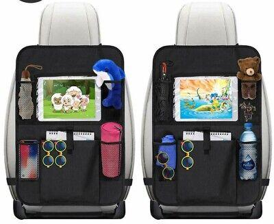 Auto Rücksitz Organizer Kinder Schmutzabweisender Rückenlehnen 8 Tasche DE Stock