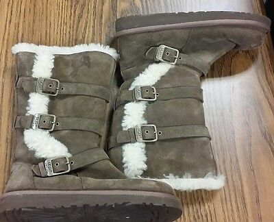 UGG Australia Maddi Brown Boots Women's Size US 3 #1001520K for sale  Mentor