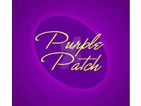 Purple patch