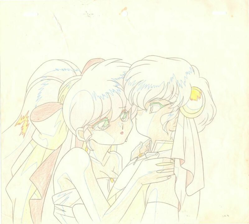 Anime Genga not Cel Ranma 1/2 #233
