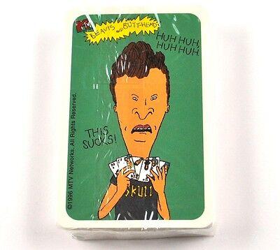 MTV Beavis and Butt-Head Spielkarten Karten USA Playing Cards Kartenspiel rosa