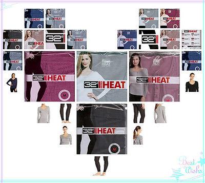 Off 65    New Womens Weatherproof 32 Degrees Heat Thermal Underwear
