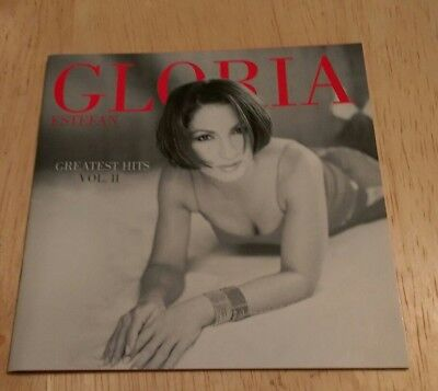 Greatest Hits Vol 2 CD Gloria Estefan Best Of Turn The Beat Around I Got No