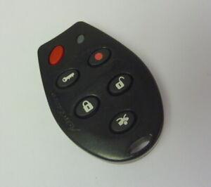astrostart j5f-tx2000 keyless entry remote fob transmitter alarm 6 buttons