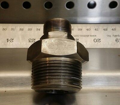 Hastelloy-c C-276 1-14 Npt To 34 Tube Gyrolok Fitting Hast C Fittings