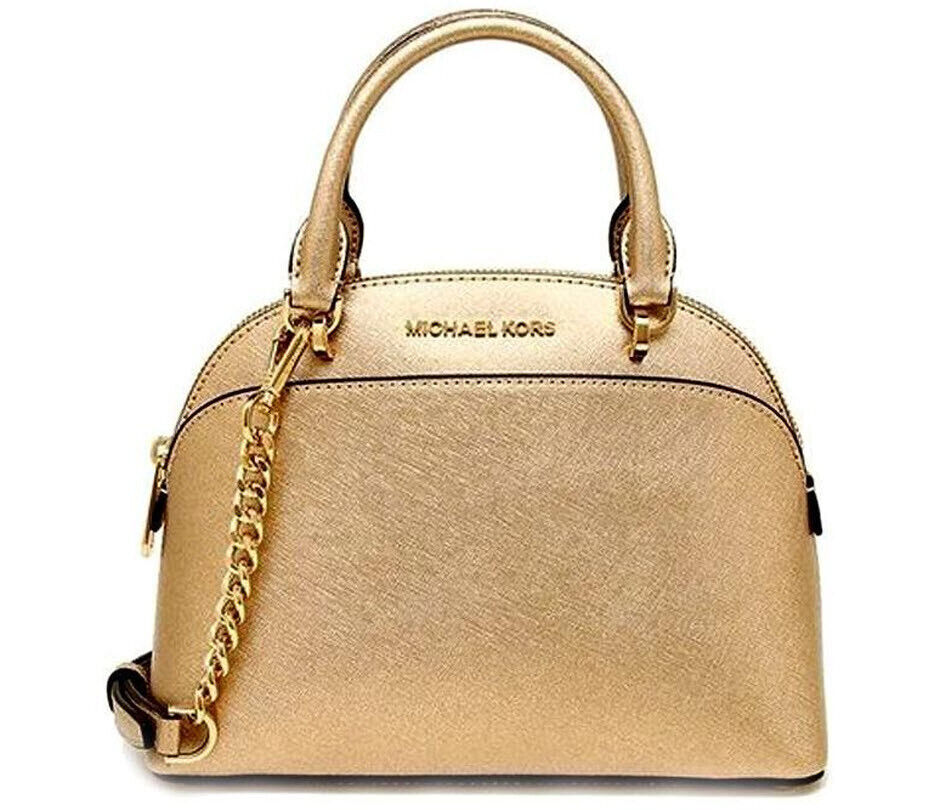 emmy dome satchel top handle leather bag