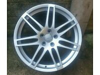 "GENUINE AUDI A4 A6 LE MANS RS4 SINGLE SPARE 19"" ALLOY WHEEL NO REPAIRS"