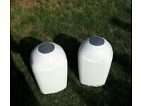 tommee tippee sangenic nappy Bins X2