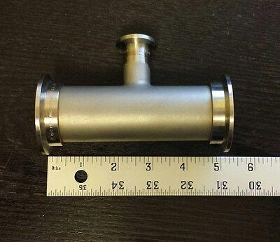 Mdc Fitting Tee Flanges Vacuum 5 2x 35mm Diameter 1x 16mm Flange