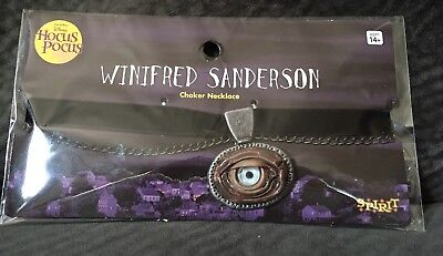 Hocus Pocus Cosplay (Hocus Pocus Winifred Sanderson Cosplay Costume Necklace Choker EYE BALL)