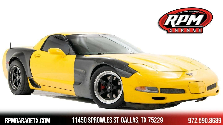 2003 Yellow Chevrolet Corvette Z06  | C5 Corvette Photo 1