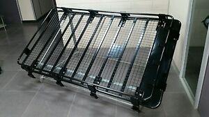 Nissan patrol gq gu Toyota landcruiser 80 series roofrack cage basket