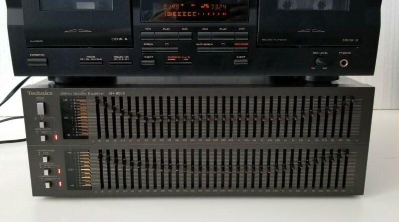 Technics SH 8065 33 Band Stereo Graphic Equalizer