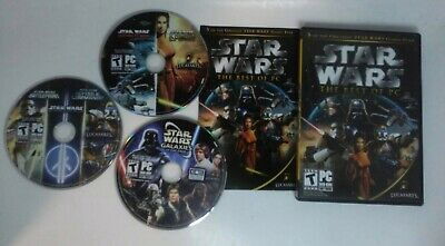 Star Wars: The Best of PC (PC, 2006) 3 Discs with Manual & Case Free (The Best Pc Case)