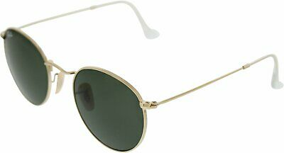 Ray-Ban Men's Gradient Icons RB3447-001-50 Gold Round (Ray Ban Icons)