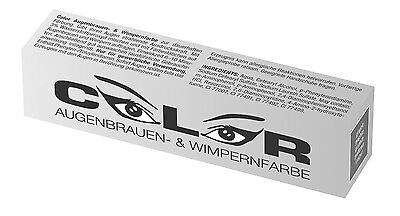 Color Wimpernfarbe Augenbrauenfarbe GRAPHIT 15ml Wimpern Färbung €28,33/100ml