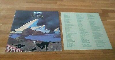 Yes Drama UK Gatefold LP With Lyric Insert Atlantic K50736 Classic Prog Rock