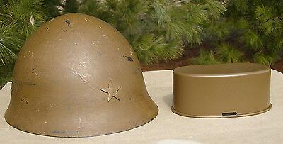 Imperial Japanese WWII Helmet SPRAY PAINT (HELMET NOT FOR SALE!!!)