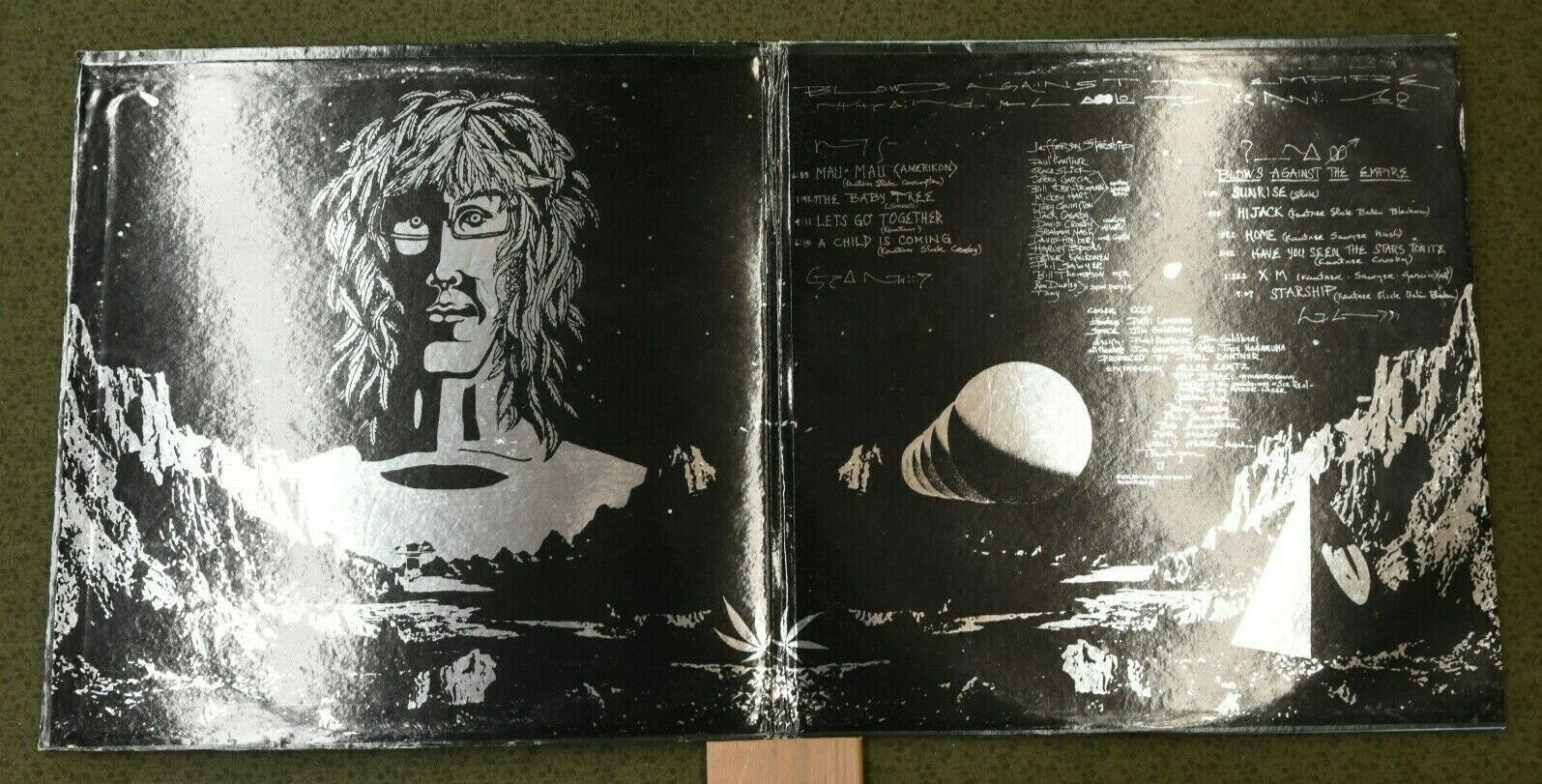 Jefferson Starship Blows Against The Empire LP Gatefold, Album NM Jacket VG  - $10.95