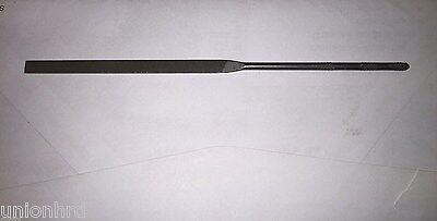 Swiss Pattern File Die Sinker Riffler Type 5 Units Nicholson 0 Cut 5-1//2 in Length Three Square Shape
