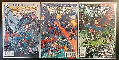 SUPERMAN: LAST STAND New KRYPTON #1-3 Complete Lot (2010 DC Comics) ~ VF/NM - Superman Last Stand
