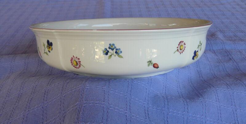 """Villeroy & Boch Petite Fleur 10"""" Serving Bowl"""