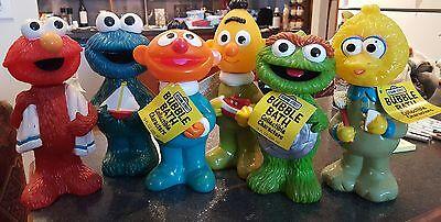 Elmo Bubbles (1992 Sesame Street figural bubble bath 9