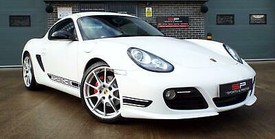 2011 Porsche Cayman R 3.4 Manual Carrera White Gloss Great Example!