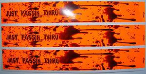 ARROW WRAPS 13 PACK FLO ORANGE