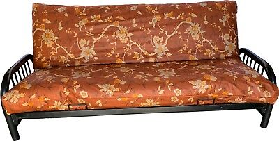 Deco #39 Cotton Full Size Futon Mattress Covers, Bed Covering Protector ()