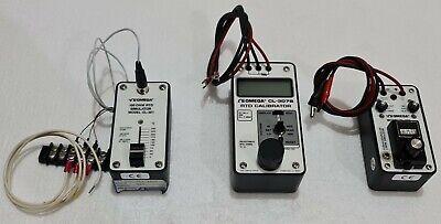 Omega Cl-307b Cl-301 Cl-303 Rtd Calibratorsimulator 9896202 Mixed Lot
