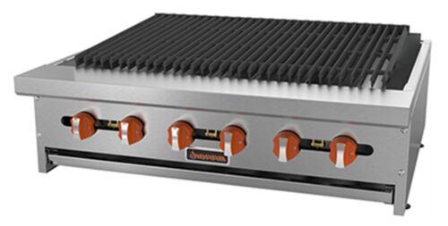 "Sierra Srrb-36 Radiant Gas Broiler Charbroiler Countertop 36""w Manual"