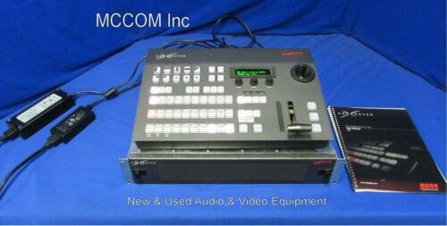 Ross CrossOver 12 12 Input HD-SDI Switcher w/ control panel, xpression dongle