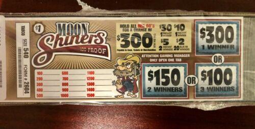*$150 PROFIT MOONSHINERS $300 WINNER $1/540 PULL TABS INSTANT/MULTIPLE WINNERS