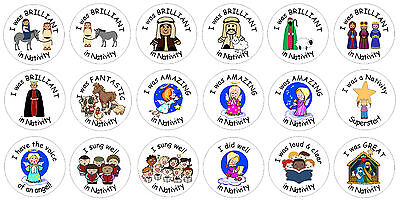 48 Reward stickers for School / Church Nativity Play](Halloween Plays For School)
