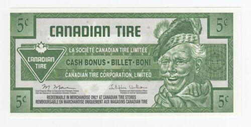 CANADIAN TIRE 2011-2012 - 5 Cent Coupon (S31) Unc Replacement Money