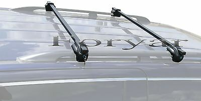 BRIGHTLINES STEEL LOCKING CROSS BARS CROSSBARS ROOF RACKS FOR ISUZU RODEO