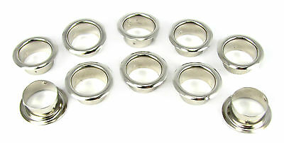 10-pack 7/8-inch Nickel Grommets/Candle Cups - Great for Crafts! 32-93-01 on Rummage