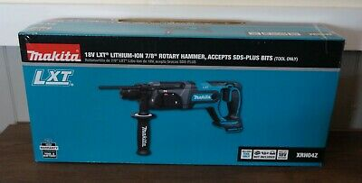 New Makita 18v Lxt 78 Rotary Hammer Accepts Sds-plus Xrh04z Tool Only