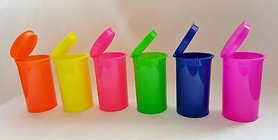 13 Dram Neon Pop Top Now Choose Your Colors Rx Plastic Container Vial Crafts