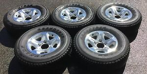 (5) GXL rims alloys 79 series Brand New Toyota Landcruiser Bayswater Bayswater Area Preview