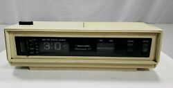 Vintage Realistic 12-1498 AM/FM Digital Clock Radio Alarm