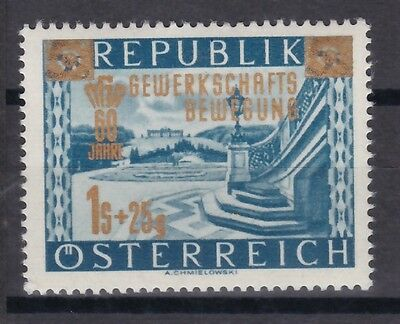 Österreich postfrisch  MiNr.  983 . 60 Jahre Gewerkschaftsbewegung