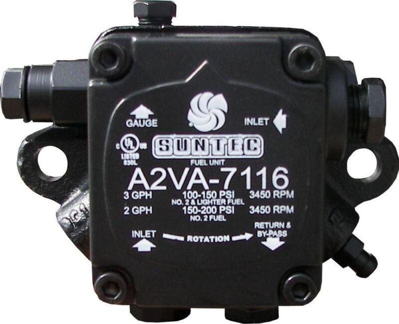 100 PSI at 3 GPH A2VA-7116 Single Stage Oil Fuel Pump