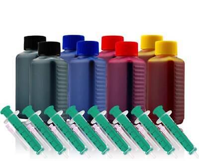 L Nachfülltinte für BROTHER LC985BK LC985C LC985M LC985Y Drucker Tinte Refill gebraucht kaufen  Deutschland