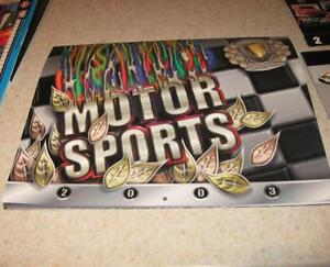 Interstate Fuel Dragster Indy Car Funny Car Outboard Formula 1