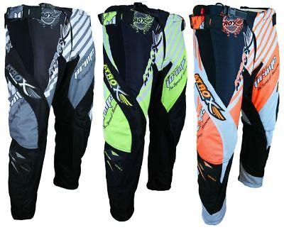 Heyberry MX-Cross Quad Motocross Hose schwarz weiß grau grün orange M - XXL Orange Motocross Hose