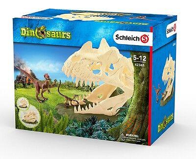 Schleich Dinosaurier Spielset 42348 Große Schädelfalle mit Velociraptor Neu 2017