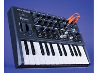 Arturia Microbrute analog synthesiser